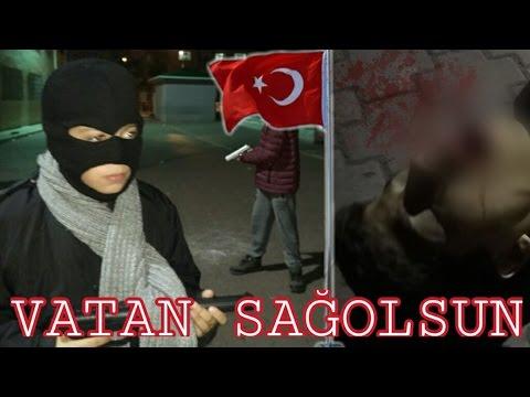 Türk Bayrağı İçin Canını Feda Ediyor / Vatan Sağolsun / Kısa Film