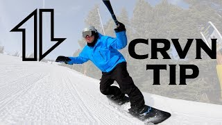 How to Carve a Snowboard Tip
