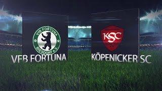 (20.Spieltag der Bezirksliga) VFB Fortuna Biesdorf II - Köpenicker SC II