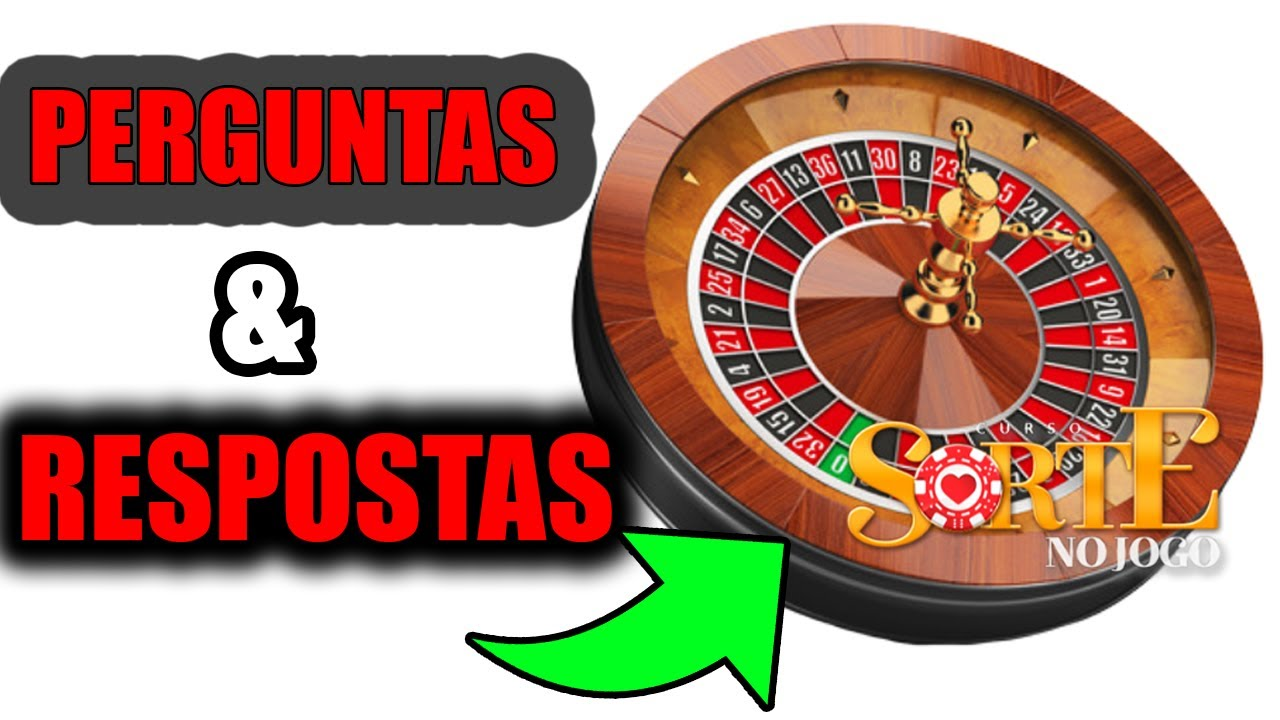 Curso Sorte no Jogo - PERGUNTAS E RESPOSTAS - Roleta bet365 - Casino Online - Jogo de Roleta