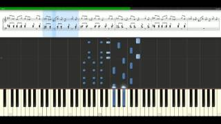 David Guetta - When love takes over feat. Kelly Rowland [Piano Tutorial] Synthesia