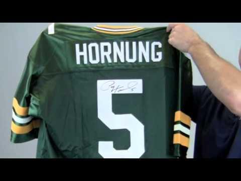 Signed Paul Hornung Custom Packers Jersey - JSA