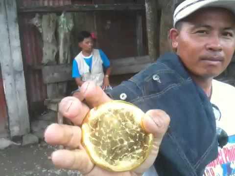 Gold in camanlangan