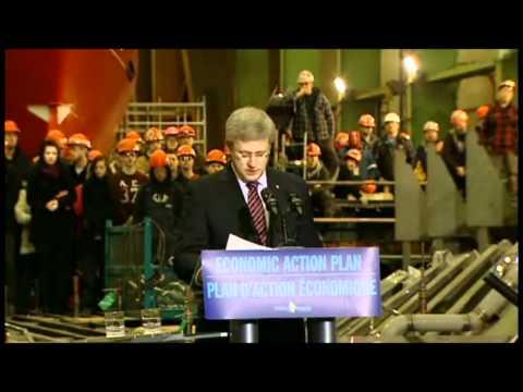 Prime Minister Harper on National Shipbuilding Procurement