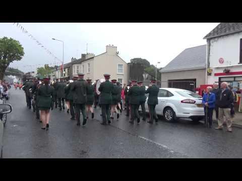 Ballyreagh Silver Band @ Brookeborough District Parade 2015 (2)