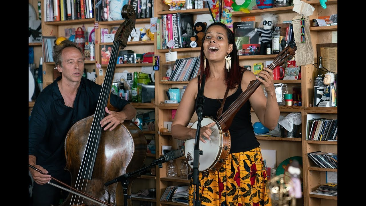Rhiannon Giddens: NPR Music Tiny Desk Concert