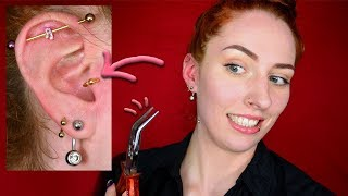 Piercings: Tragus jewellery change -1st time😱-
