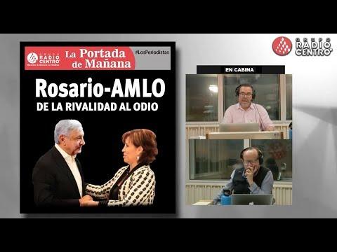 EN VIVO l ROSARIO - AMLO: DE LA RIVALIDAD AL ODIO