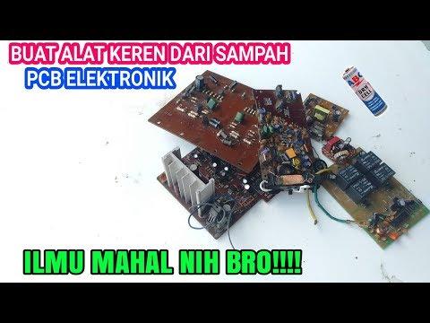 Ide Kreatif Dari Barang Bekas PCB Mesin Elektronik Jadi Barang Yang Sangat Berguna