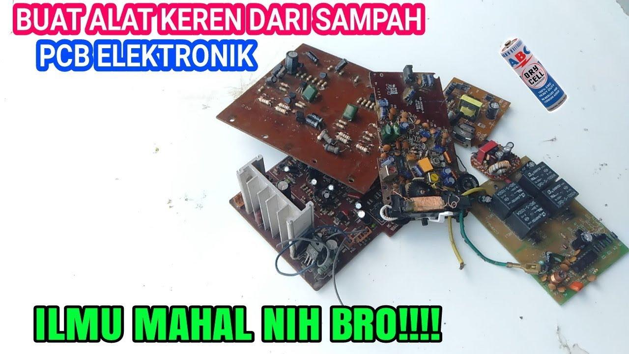 Ide Kreatif Dari Barang Bekas Pcb Mesin Elektronik Jadi Barang