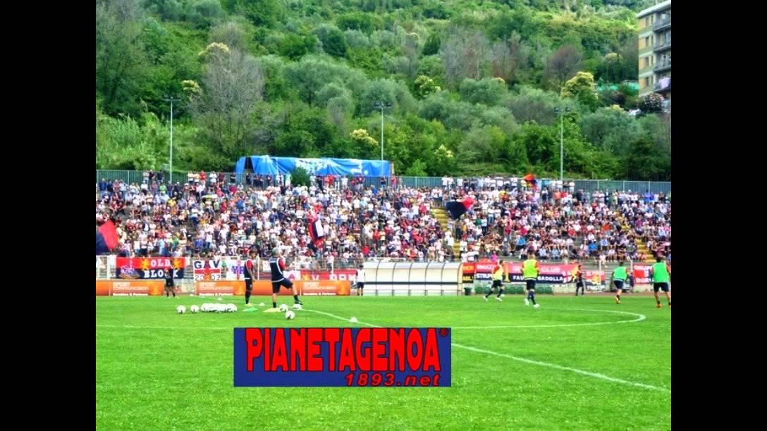 Genoa CFC alla Sciorba (Genova) - YouTube