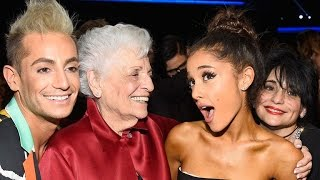 Ariana Grande Adorably Embarrasses Her Mother and 'Nonna' on 'Tonight Show'