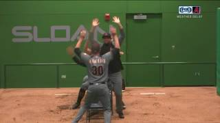 Arizona Diamondbacks vs Chicago Cubs bullpen