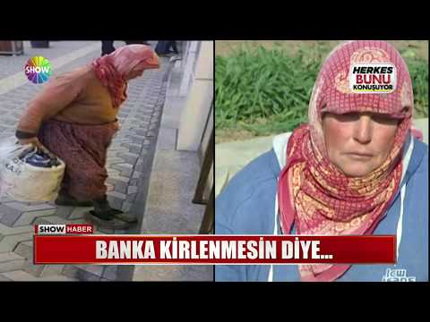 Banka Kirlenmesin Diye...