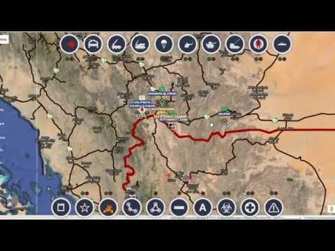 Обзор карты боевых действий в  Сирии за 16.10.2015 год