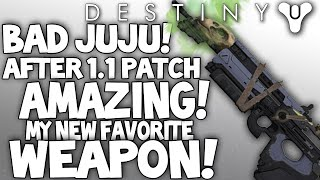Destiny: Bad Juju is Amazing - After Patch / Buff Review - My New FAV Weapon (Exotic Pulse Rifle)