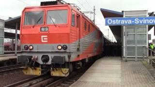 Baník vlak do Opavy.