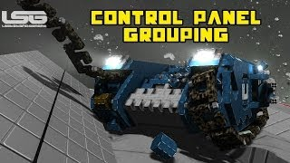 Space Engineers - Grouping Control Panel Parameters, Reversible Motors