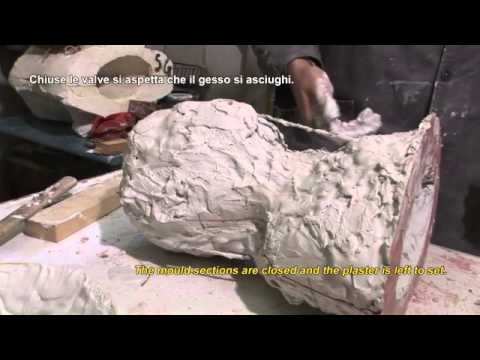 Galleria dell 39 accademia tecnica della formatura in gesso youtube - Il giardino di gesso ...