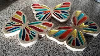 Butterflies made from scrap wood