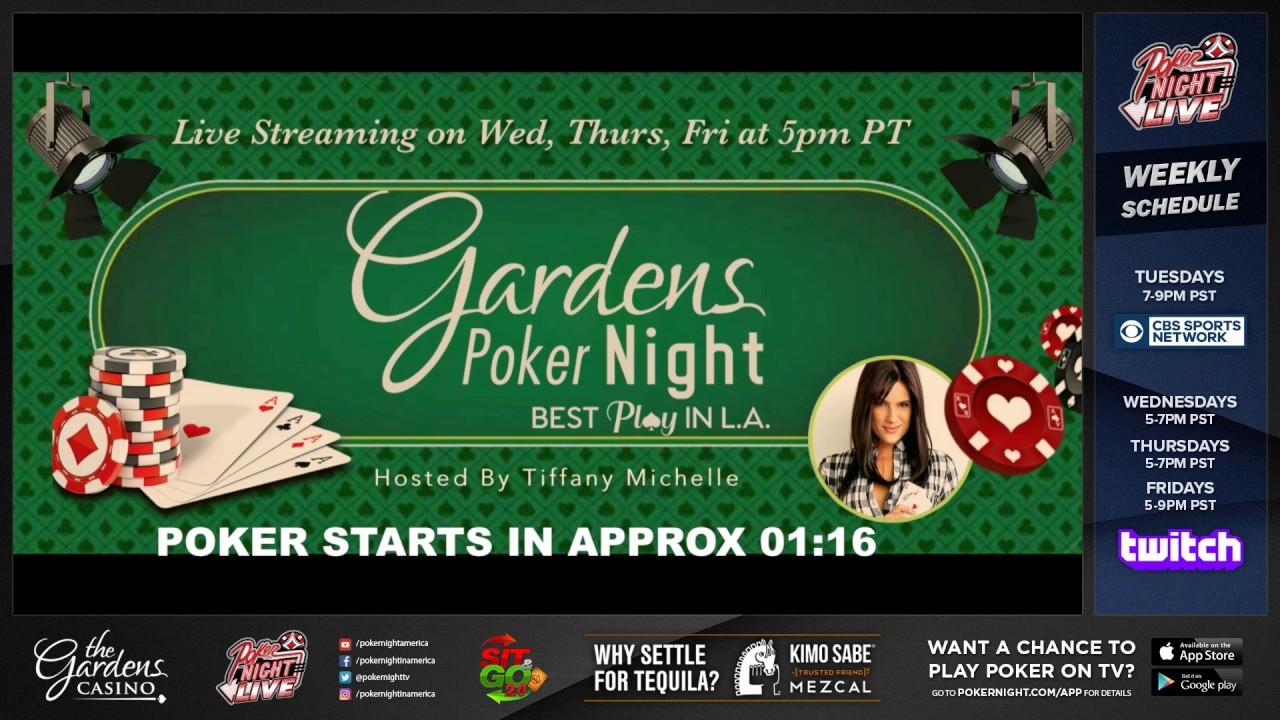 Cash Game Live Stream Filmed 4 18 18 The Gardens Casino Hawaiian Gardens Ca Youtube