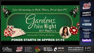 CASH GAME Live Stream - Filmed 4/18/18 | The Gardens Casino (Hawaiian Gardens, CA)