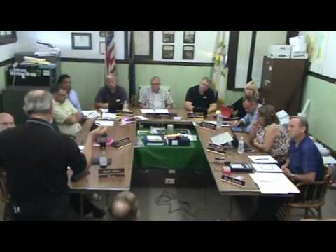 Oxford PA Borough Council Meeting - 8/8/2016