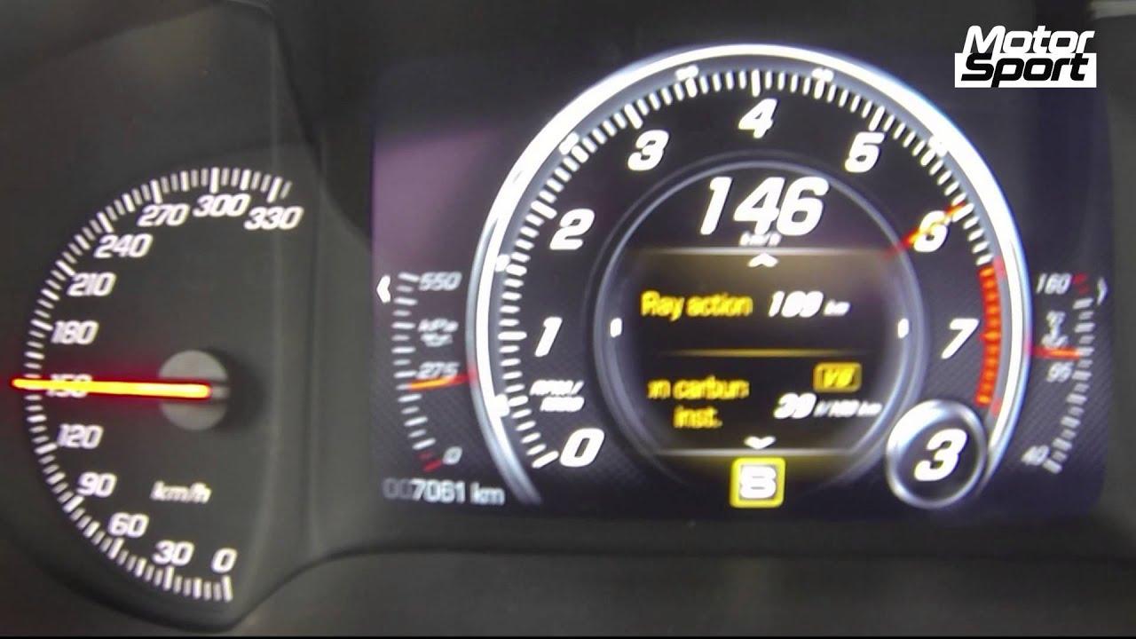 New Corvette Stingray >> 0-265 km/h : Corvette C7 Stingray standing kilometer (Motorsport) - YouTube