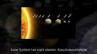 Video introduction on FREE Solar System Worksheet for Kids - EasyScienceForKids.com