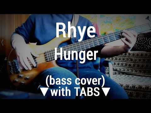 Rhye - Hunger [TABS](bass Cover)🎸