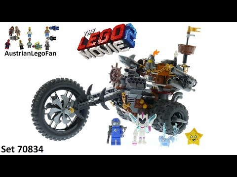 Lego Movie 2 70834 MetalBeard´s Heavy Metal Motor Trike! - Lego Speed Build Review