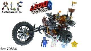 Lego Movie 2 70834 MetalBeard´s Heavy Metal Motor Trike! - Lego 70834 Speed Build