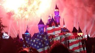 Disneyland Fireworks 4th of July Celebrate America
