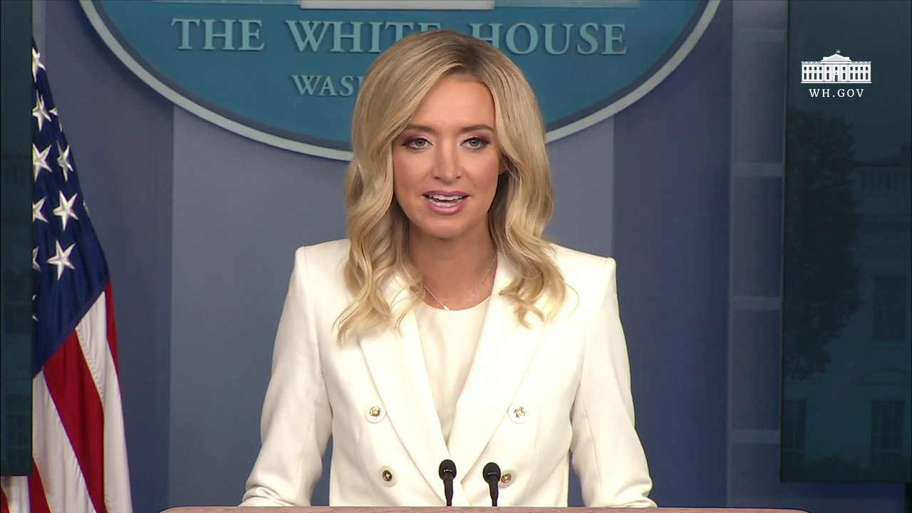 05 06 20 Press Secretary Kayleigh Mcenany Holds A Press Briefing Youtube