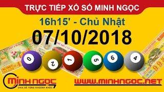 Xổ số Minh Ngọc™ Chủ Nhật 07/10/2018 - Kênh chính thức từ Minhngoc.net.vn