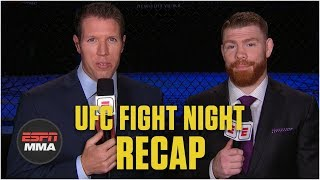 Reaction to UFC Fight Night: Dos Anjos vs. Lee in Rochester, NY | ESPN MMA