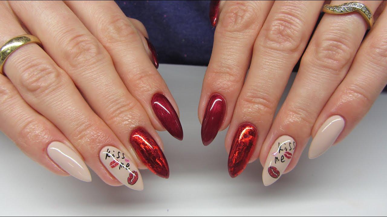 Walentynkowe Paznokcie Valentine S Nails Neo Nail Folia