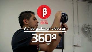 así se graba un video en 360º