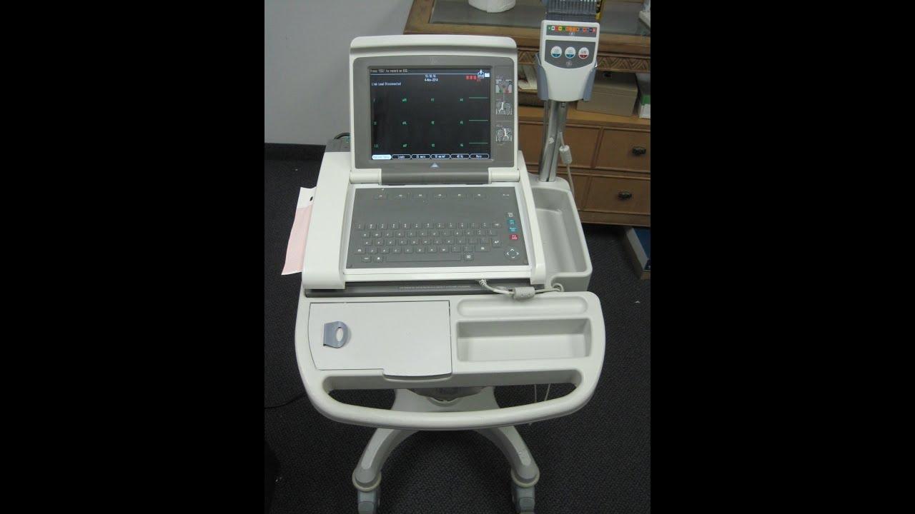 ge mac 5000 ekg youtube rh youtube com ge mac 5000 service manual lidl mac 5000 manual