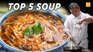 TOP 5 Soup by Chinese Masterchefs - EASY recipes • Taste Show