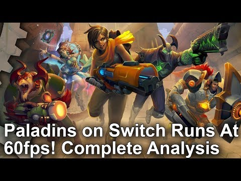 Paladins runs at 60fps on Switch and it's superb • Eurogamer net