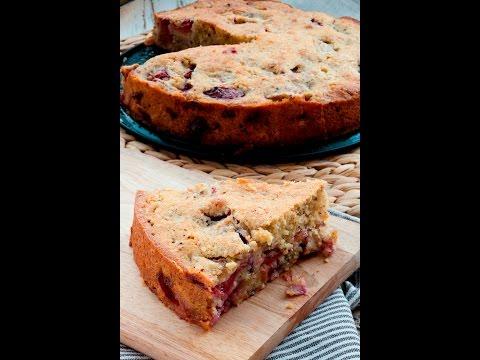 Сливовый пирог в мультиварке от высоцкой