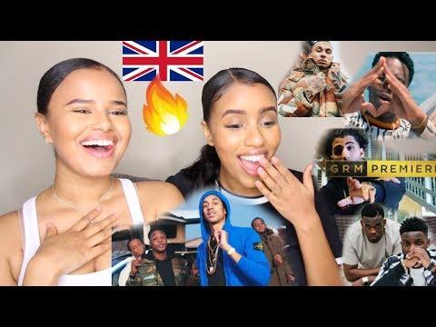 UK RAP/GRIME REACTION 2018 | NOT3S, J HUS, B YOUNG, FREDO, MO STACK & MORE | Osh and Akela