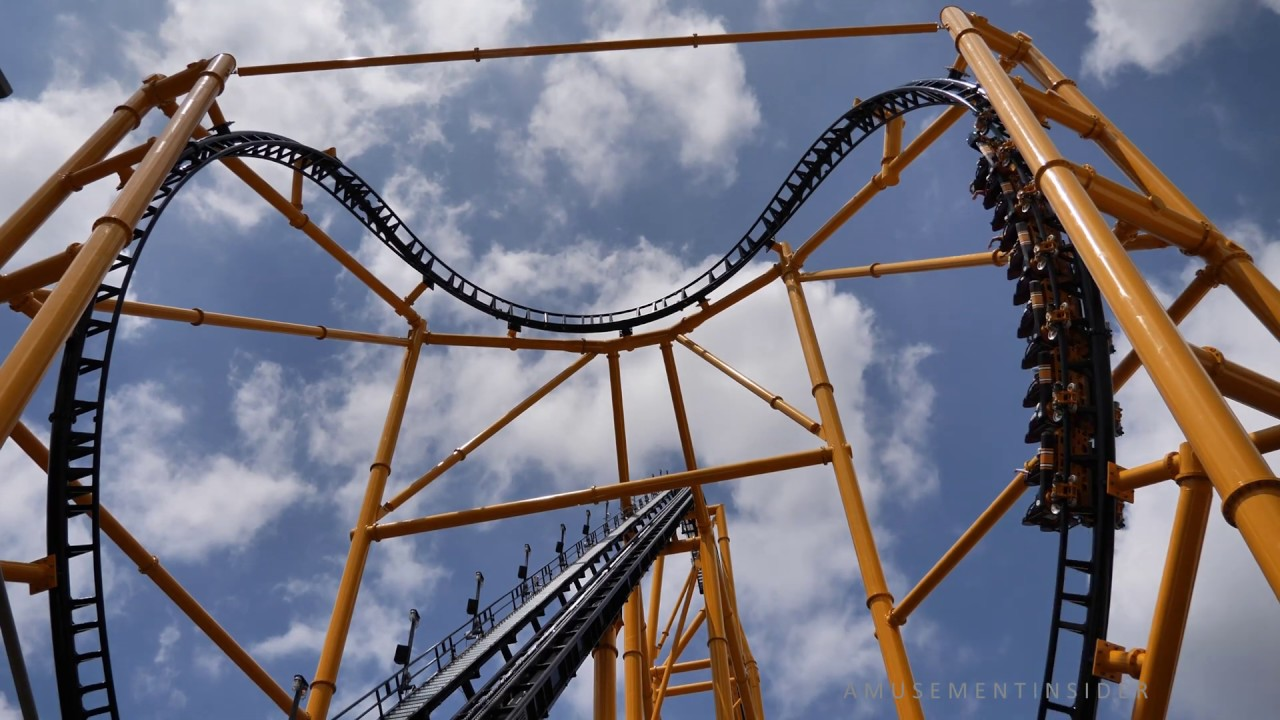 Steel Curtain (4K) Hype Video & On/Off Ride, Kennywood