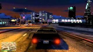 GTA 5 -  Evening Muscle Car Mayhem