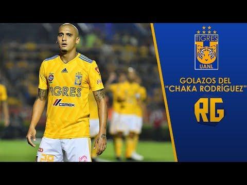 """Los 5 GOLAZOS Del """"Chaka Rodríguez"""" Con Tigres"""