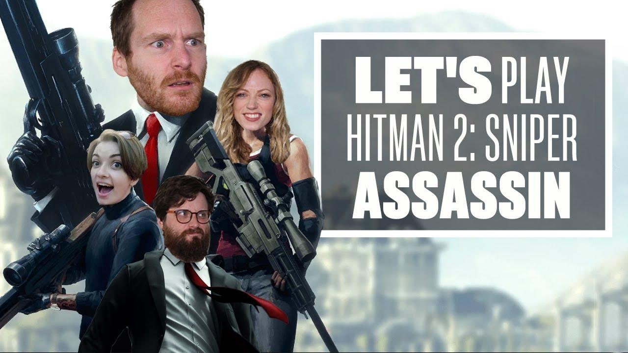 Hitman 2: Sniper Assassin gameplay - THE TEAM EUROGAMER CHALLENGE!