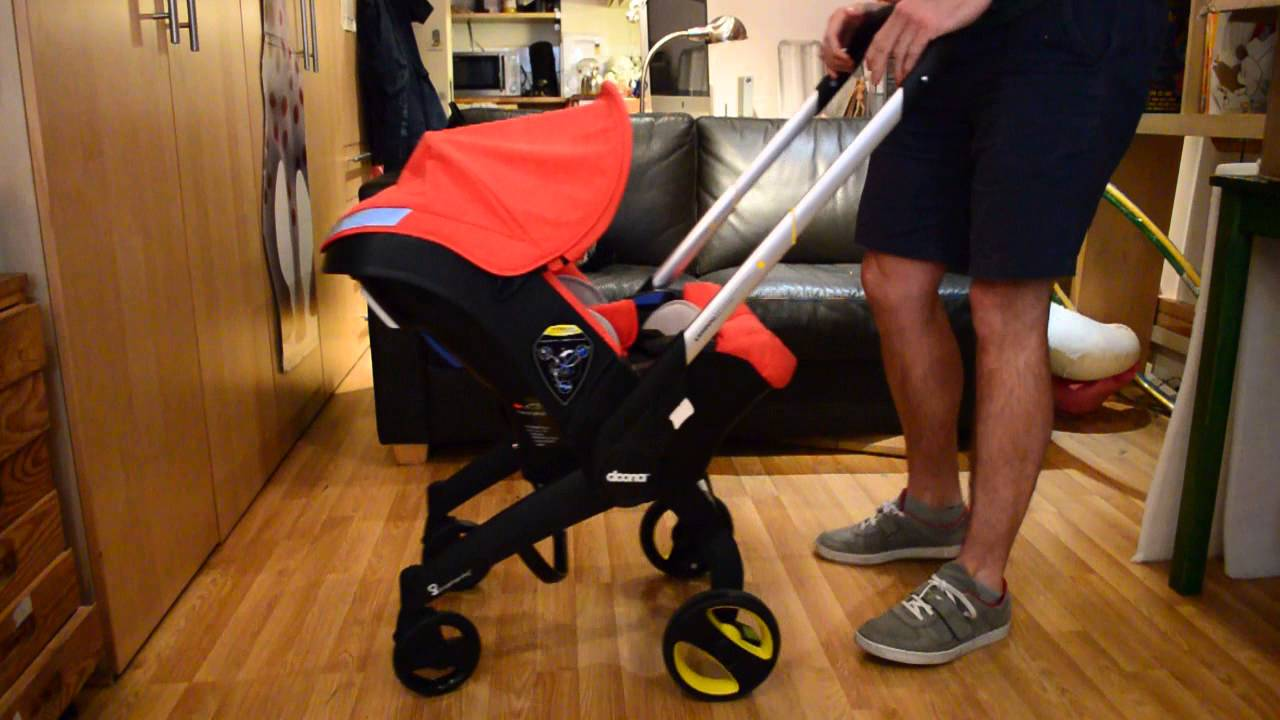 Doona Car Seat Demonstrated By Gadget Dad