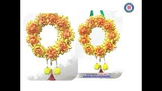 DIY Foam sheet Wall Hanging||Home Decor||Foam Flower ideas||ssarts crafts-nanduri lakshmi