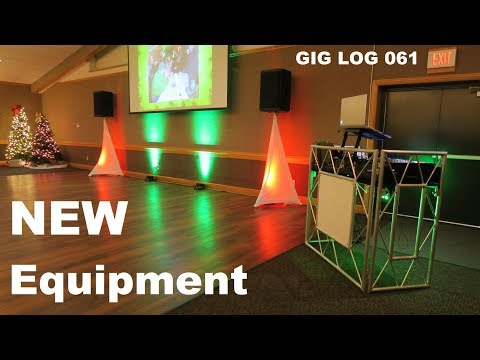 Company Party Games | GIG LOG 061 | OnStage Skrims | Rockville Air Assist Speaker Stands